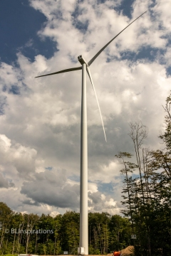 Assembled Wind Turbine