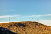 Wind turbines along Allegheny Front
