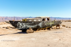 Bombay Beach Art Boat 2