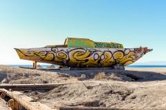Bombay Beach Art Boat 3