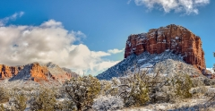 Courthouse Butte HDR Panorama 3