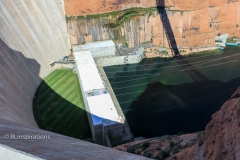 Base of Glen Canyon Dam