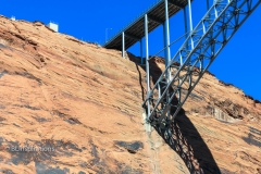 Glen Canyon Bridge support