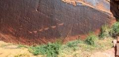 Glen Canyon Petroglyph Panorama