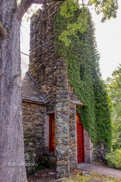 Ivy Covered Church - Bell Tower