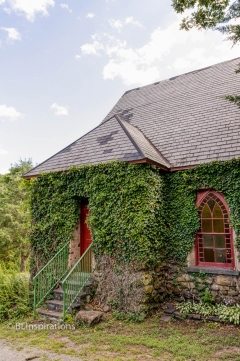 Ivy Covered Church - Rear Entrance
