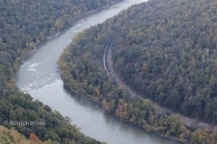 Coal Train in New River Gorge