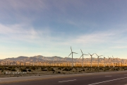 Wind Turbines along North Indian Canyon Drive