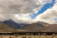 Storm toward Mt. San Jacinto