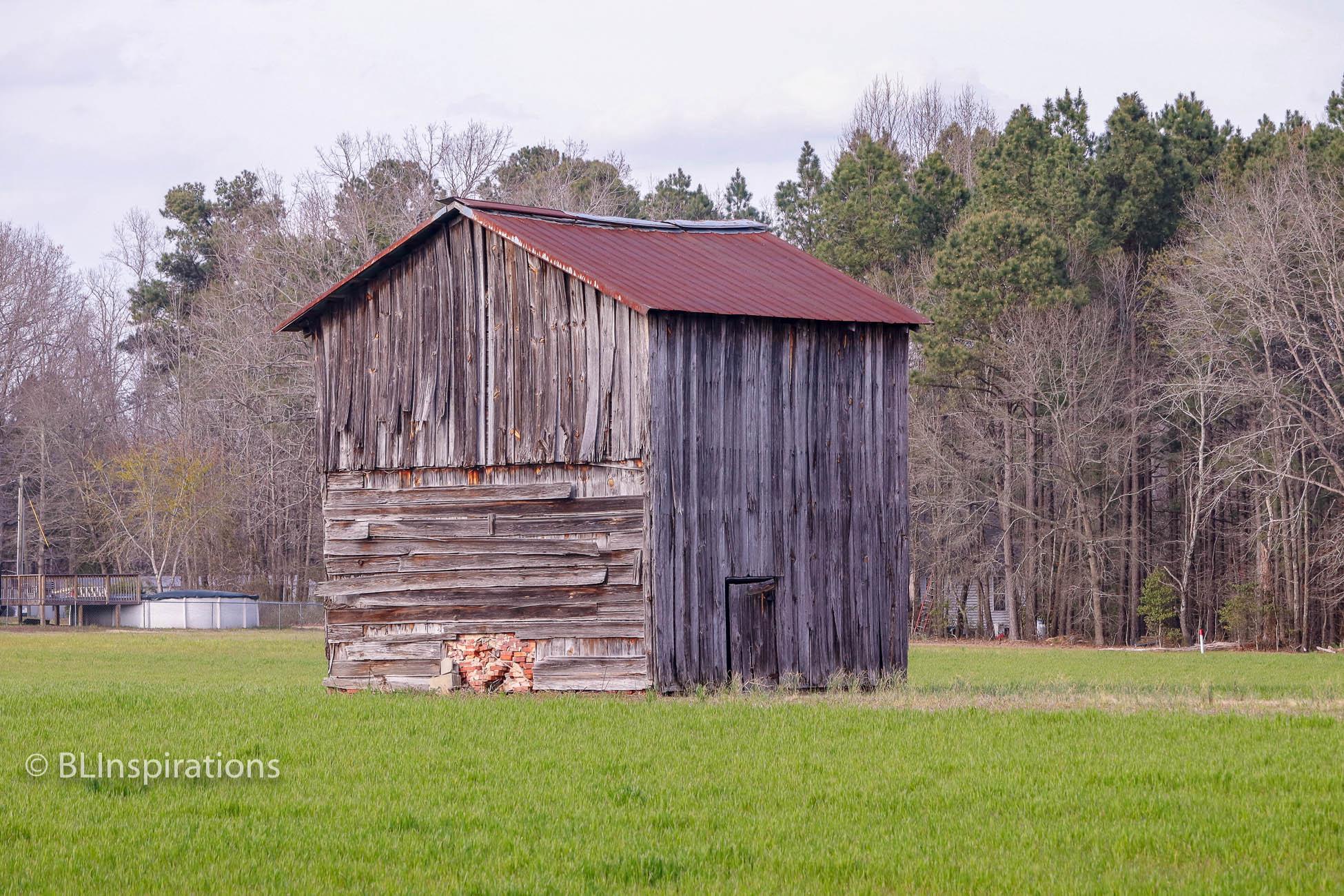 North Carolina Tobacco Drying Barn - BLInspirations