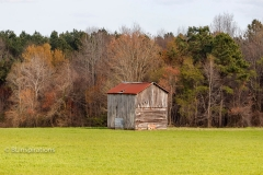 Johnston County, NC Tobacco Barn 1