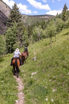 Riding on the Colorado Trail