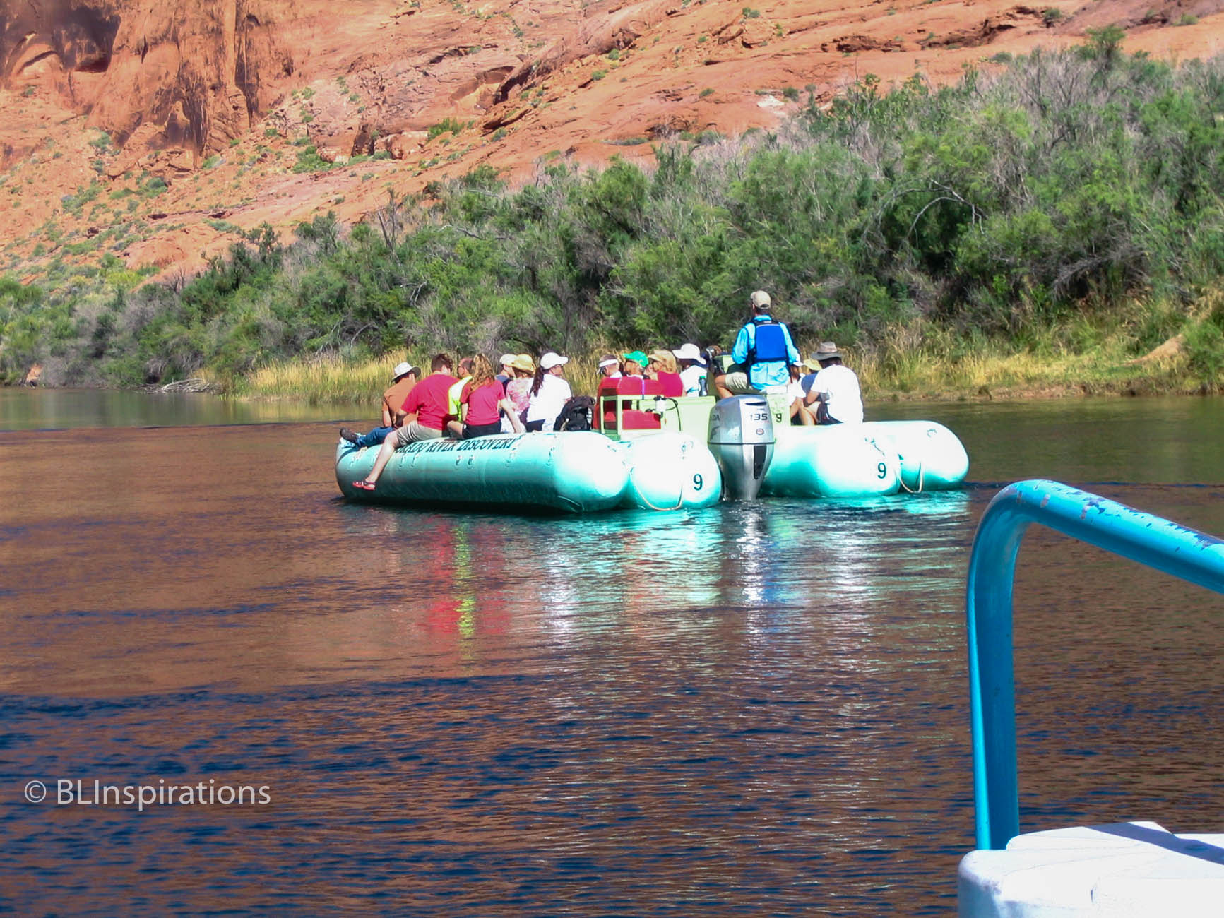 Glen Canyon Float Trip 3