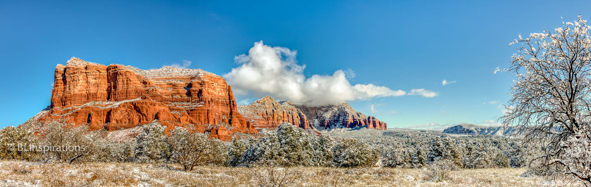 Courthouse Butte HDR Panorama 2
